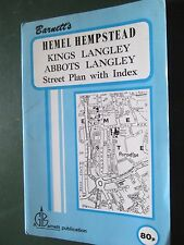 Barnett's street plan Hemel Hempstead Kings Langley and area  + index  90's