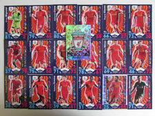 Liverpool Team Set Football Trading Cards