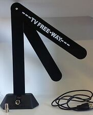 lot of 10 NEW TV Free-Way HD Digital Antenna As Seen On Tv Telebrands (bulk pck)