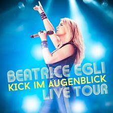 BEATRICE EGLI - KICK IM AUGENBLICK: LIVE TOUR  2 CD NEU