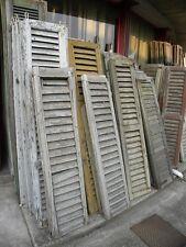 Vecchie finestre a griglia in legno vecchio prezzo per la coppia varie misure !!