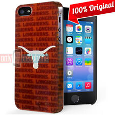 Texas LONGHORNS Apple iPhone 5 5S SE Official NCAA Slim Case Plastic Snap Cover