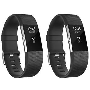 Ersatz Armband Silikon Rhombus Pattern Band Uhrenarmband für Fitbit Charge 2 Uhr