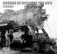 Train Sounds On CD: Sounds Of Steam In The 50s, Volume 3