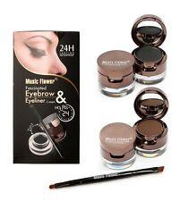 24Hrs Lasting Water Proof Eyebrow & Eyeliner Gel Cream 2 in 1 MakeUp Beauty