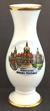 Porcelain Vase, Hannover Neues Rathaus, Porzellan Manufaktur, FM.Floss, Bavaria
