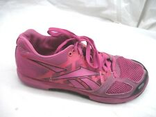 Reebok sz 9M Cross Fit pink cross training womens ladies tennis running shoes