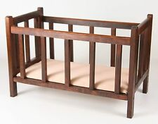 AMERICAN GIRL DOLL SIZE FURNITURE WOODEN CRIB/BED 4-7 years
