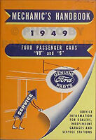 1949 Ford Car Mechanics Handbook 49 Original MINT Service Training Manual