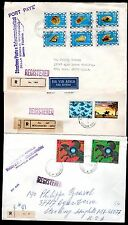 SOMALIA 1890's COLLECTION OF 10 REGISTERED COVERS DIFFERENT COMMEMORATIVE FRANKI