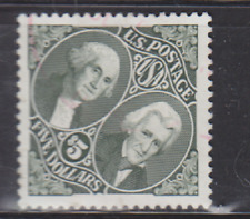 $5.00 Washington/Jackson Stamp, USA Scott 2592, Used
