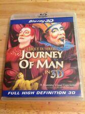 IMAX - Cirque du Soleil: Journey of Man 3D (Blu-ray,2011,3D)Authentic US RELEASE