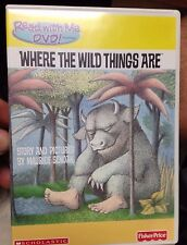 Where the Wild Things Are DVD Read with ME Fisher Price Scholastic Max Phonics