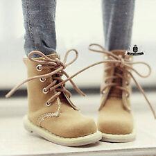 1/4 BJD Shoes MSD Dollfie yellow Nubuck leather Boots DREAM MID AOD DOD SOOM DZ