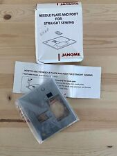 JANOME Needle Plate & Foot for Straight Sewing 6500 NIB