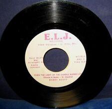 BOBBY SCOTT 45 when the light of the candle burns love E.L.J. #990 (R&B, SOUL)