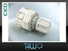 "CKD R4000 Air filter pressure reducer regulator Manometer 1/2"" + wall grip"