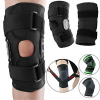 Knee Sleeve Compression Brace Support For Sport Joint Pain Arthritis Relief Wrap