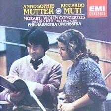 Mozart Violinkonzert Nr. 2, KV 211/Nr. 4, KV 218 (EMI, 1982) [CD]