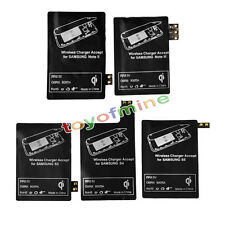 Qi chargeur sans fil de charge récepteur pour Samsung Galaxy S3 S4 S5 Note 2 3 4