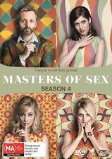 Masters Of Sex : Season 4 (DVD, 2017, 3-Disc Set) (Region 4) Aussie Release