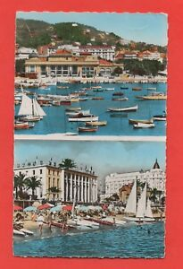 Cannes - the Port, le Casino and The Palace of / The Festival (J4055)