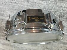 Pearl CBS Masterworks 14x5 Snare Drum Silver chrome Japan Drums