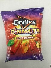 Doritos Dinamita Fiery Habanero Flavor Free Shipping Lot Of 5 Sabritos 4.25oz