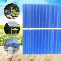20Pcs Solar Panel Cells Polykristalline Photovoltaik Heiß Ladegerät DIY L1M8