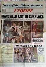L'Equipe Journal 12/4/1989; Fin de suspension Foot Anglais/ Karine Boucher/