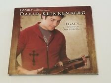 DAVID KLINKENBERG LEGACY HYMNS OF OUR HERITAGE CD RINGING ROCK 2007
