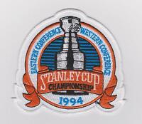 1994 STANLEY CUP FINALS JERSEY PATCH  NEW YORK RANGERS ONLY CORRECT PATCH