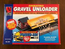 Life-Like HO Scale Gravel Unloader with Operating Car 21311 NEW