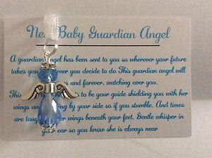 Baby boy guardian angel Keepsake baby christening gift baptism handmade