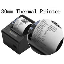 80mm Network Usb Thermal Receipt Pos Printer Auto Cutter Escpos For Supermarket