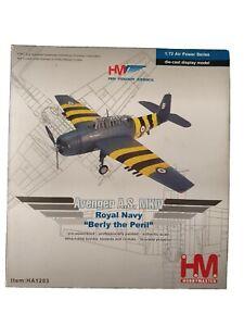 Hobby Master Air Power Avenger A.S. MKIV Royal Navy 'Beryl the Peril'  HA1203