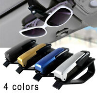 1x Car Vehicle Accessory Sun Visor Eye Glasses Sunglasses Card Pen Clip Holder