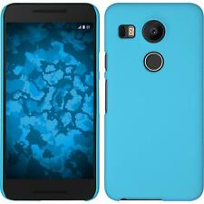 Funda Rígida LG G Flex 2 - goma azul claro protector de pantalla