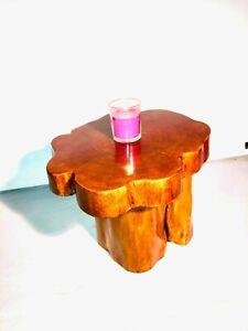 Small Dark Mahogany Table