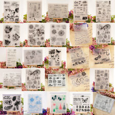 Multi Silicone Clear Stamps Transparent Rubber Stamps DIY Scrapbooking Craft