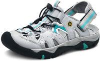 ATIKA Women Closed Toe Lightweight Walking Outdoor Sandal, Athletic Water Shoes
