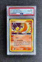 Pokemon PSA 10 Ho-oh Reverse Foil Ex Unseen Forces #27/115 Gem Mint