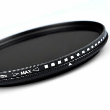 ZOMEI 77mm Variable Fader ND Filter ND2 ND4 ND8 ND400 for Nikon Canon Hoya
