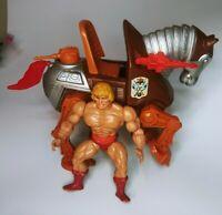 MOTU He-Man & Stridor Horse Vintage Figures  1983,1981