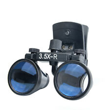 Binocular Medical Surgical 3.5X Magnifier Glasses Loupes Clip Mobile Dental CA