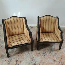 Lundby - LISA 2 fauteuils du Salon MADRID 1981/82 - Echelle 1/16e