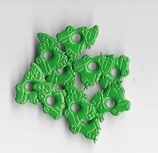 ** 10 FROG EYELETS ** CLEARANCE SALE ** EYELET OUTLET GREEN