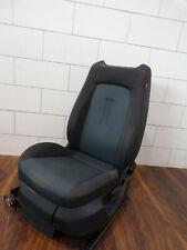 Sitz vorne links Seat Altea 5P schwarz mit Airbag Original
