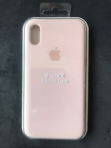 Apple iPhone X *Genuine* Sand Pink Cover - Made To Fit iPhone X Perfectly