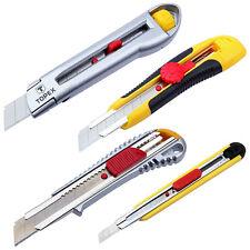 Cuttermesser Abbrechmesser Teppichmesser Cutter Messer 9mm , 18mm , 25mm